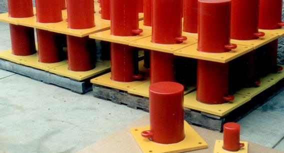 Crane Bumpers are available in any size or quantity