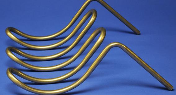 Stainless Steel Tubing bent without flattening using Smart pad systems