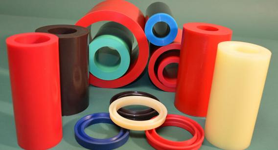 Urethane billets for CNC machining Hydraulic Seals