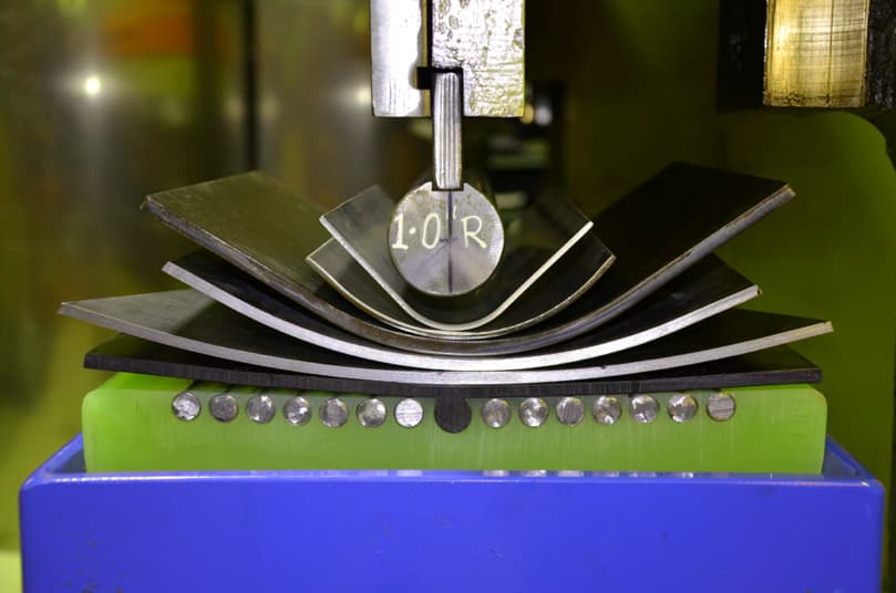 sheet metal radius tooling